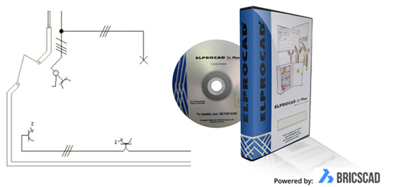 ELPROCAD IC Plan, produktillustration